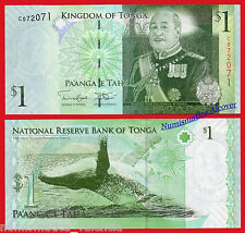 TONGA 1 Pa'anga 2009 (2014) Pick 37 2nd SIGN SC /  UNC