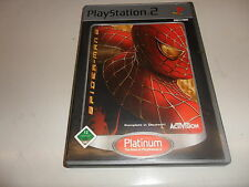 PlayStation 2  PS 2  Spider-Man 2 ( Platinum )