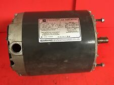 Used Emerson 1/2 HP Air Over Motor Mod No S6322JMY-7378, 115/230V, Single Phase
