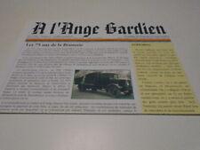 ORVAL( PERIODIQUE A  L'ANGE GARDIEN ) 75 ANS DE LA BRASSERIE  AVRIL  2006