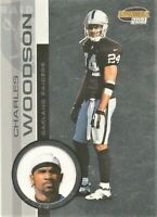 2001 Pacific Invincible Football  #180 Charles Woodson Oakland Raiders