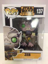 Star Wars Rebels Zeb ¡ Pop! Figura de Vinilo Funko