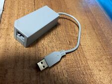 OEM Nintendo Wii,Wii U & Switch Grey Lan Adapter RVL-015 RLV015 USB Internet