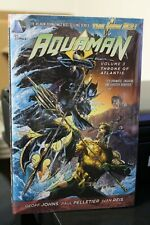 Dc Comics New 52 Aquaman vol 3 Throne of Atlantis by Geoff Johns hardcover
