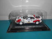 24.09.17.1 Toyota celica turbo 4WD rally catalunya 1992 Sainz IXO altaya 1/43