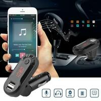 Wireless Bluetooth FM Transmitter Handsfree Car Kit MP3 Player USB Charger Lot