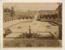 Italie, Florence, Firenze, palazzo Pitti, fontana del carciofo (sullo sfondo l'a