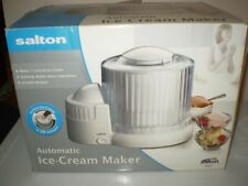 Salton Electric Automatic Ice Cream Maker