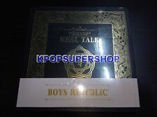Boys Republic The Second Mini Album Real Talk CD NEW Sealed Rare Out of Print