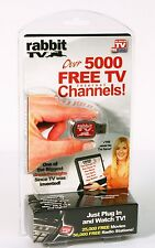 RABBIT TV AS SEEN ON TV Original RABBITTV PLUG IN & Watch TV Over 5000 FREE TV