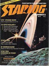 STARLOG Magazine #5 May 1977 Star Trek, Space:1999, 3-D article