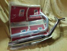 1980-81 Sportster NOS OEM Exhaust OE numbers 65600-80, 65605-80