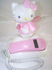 Sanrio Hello Kitty Caller ID Corded Telephone KT2010 Pink White