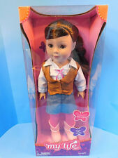 """Madame Alexander My Life as a Cowgirl 18"""" Doll Poseable  2013 New!"""