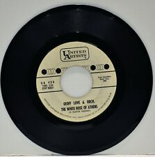 """GEOFF LOVE & ORCHESTRA  """"The White Rose Of Athens / Niana""""  45 RPM"""