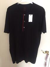 Mens Christian Dior Henley T-Shirt 3XL BNWT