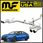 MagnaFlow Street Series Dual Exhaust w/ Quad Tips 2018-2021 Toyota Camry XSE