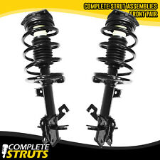 Front Complete Struts & Coil Spring Assembly Pair for 2007-2012 Nissan Sentra