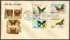 1969 PHILIPPINE BUTTERFLIES First Day Cover