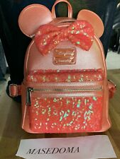 Backpack loungfely Disneyland Paris Ariel Grotto Coral new Bag
