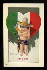 Artist Signed Vintage Postcard Twelvetrees National Cupids Ullman #75 Mexico
