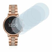 Fossil Q Venture HR (4.Gen) Watch,  6x Transparent ULTRA Clear Screen Protector