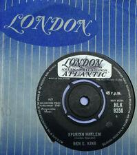 """Ben E. King, Spanish Harlem 7"""" vinyl, 1960"""