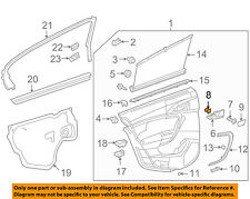 GM OEM Front Door-Bracket Nut 90230846