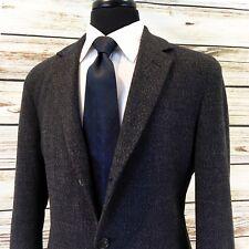 HUGO BOSS Wool CASHMERE Knit Ptch Pkt CARDIGAN BLAZER 40L Fleck Men's Sport Coat