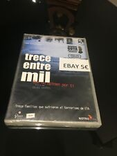TRECE ENTRE MIL DVD QUE NO OPINEN POR TI INAKI ARTETA TERRORISMO ETA