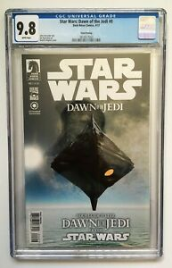 Star Wars Dawn Of The Jedi #0 3rd Third Printing CGC 9.8 Dark Horse Comics 2012
