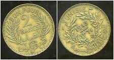 TUNISIE   2 francs  1945 -
