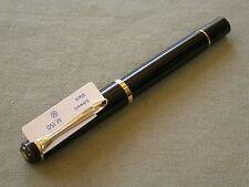 PELIKAN M150 OLD STYLE / BLACK / STEEL NIB size M nib / MINT NEVER INKED 2000'S