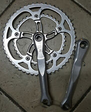 Guarnitura Bici corsa FRM CU 2 170 52 38 road bike crankset vintage