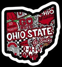 Ohio State Buckeyes Magnet - Ncaa Osu Premium Die Cut Vinyl Magnet for Fans!