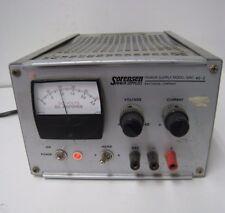Raytheon Sorensen Power Supply Model QRD 40-2 0-40 V DC