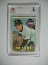 GEORGE STONE 1969 Topps #627 BVG NM-MT 8 Braves