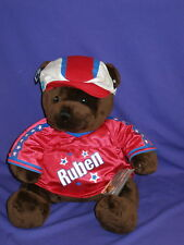 "Ruben Studdard American Idol Plush Bear by Applause 12"""