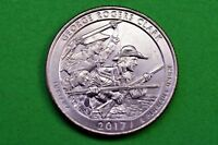 2017- P  BU  Mint State ( George Rogers Clark )US National Park Quarter