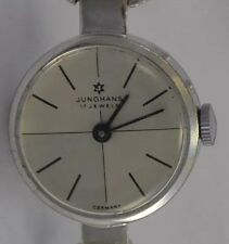 JUNGHANS 17 Jewels Damenuhr / 835 Silber / Handaufzug / Made in Germany