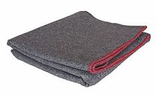 "FOX Grey Wool Utility Emergency Survival Rescue Blanket Camping 60"" x 80"" NEW"
