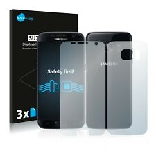 6x Savvies Screen Protector for Samsung Galaxy S7 (Front + Back) Ultra Clear