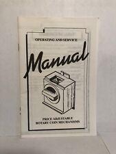 Operating & Service Manual for Edina vending machine Coin Mechanism ORIGINAL