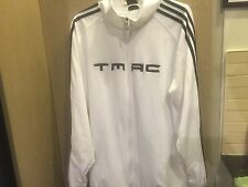 Vintage T-MAC Adidas Track Jacket Black/White/ Sz M, Fits L Exell Cond.