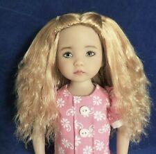 Monique LEA Wig Darkest Brown Size 7 1//4 MSD BJD on Dianna Effner Little Darling