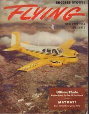 Flying Magazine Ultima Thule & Emergency Help November 1954 020418nonr