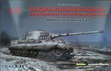 ICM 35363 Pz.Kpfw.VI Ausf. B Königstiger w/ Henschel Turret late  1:35