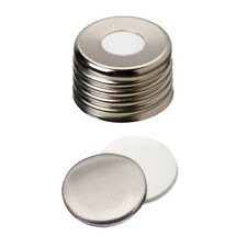 ND18 Magnetic Screw Cap (8mm hole) with Silicone/Aluminum Septa 18 03 1874