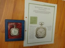 HACHETTE CLASSIC POCKET WATCH COLLECTION - ROMANTIC 1830'S STYLE WATCH ISSUE 65