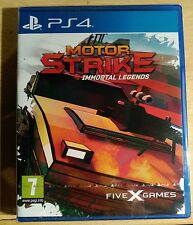 PS4 Motor Strike LRG Limited Run Games Spain spanish exclusive
